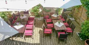 der Schrannengarten im AKZENT Hotel Schranne