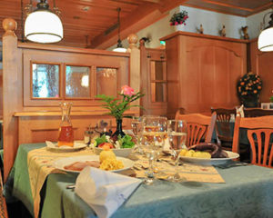 Zünftig speisen im Restaurant Schranne