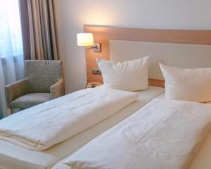Moderne Zimmer im AKZENT Hotel Schranne