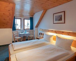 Standard-Zimmer im AKZENT Hotel Schranne