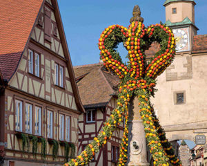 Ostern in Rothenburg ob der Tauber