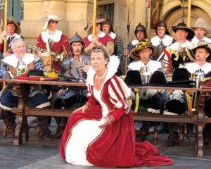 """Theaterstück """"Der Meistertrunk"""" in Rothenburg ob der Tauber"""