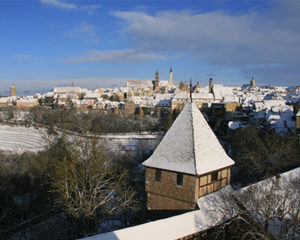 Winter in Rothenburg ob der Tauber