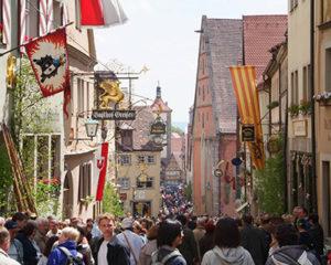 Reichstage zu Pfingsten in Rothenburg ob der Tauber