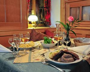 Regionale Spezialitäten in Rothenburg ob der Tauber