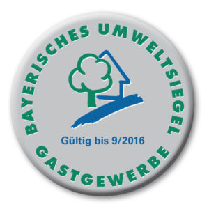 Bayerisches Umweltsiegel für Gastgewerbe