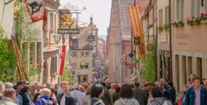 mittelalterliche Altstadt von Rothenburg ob der Tauber