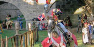 Ritterspiele bei den Reichstagen in Rothenburg ob der Tauber