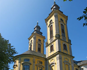 Deutsch-Ordenskirche in Bad Mergentheim