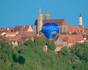 Baloon-Fahrten über Rothenburg