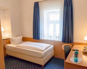 Einzelzimmer im AKZENT Hotel Schranne