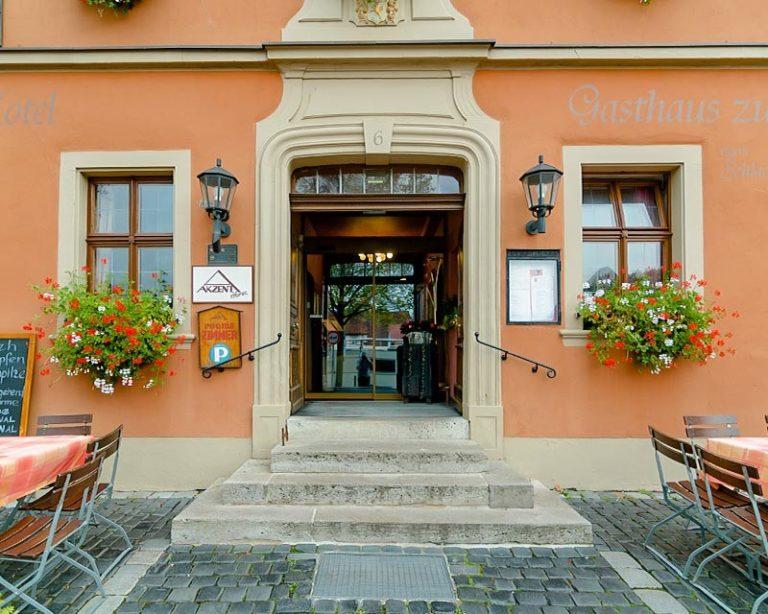 Eingang AKZENT Hotel Schranne***