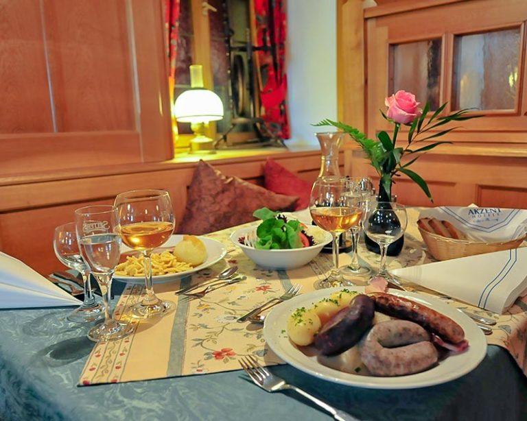 die Kostlichkeiten Frankens im Restaurant Schranne