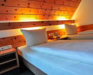 Gemütliche Zimmer im AKZENT Hotel Schranne