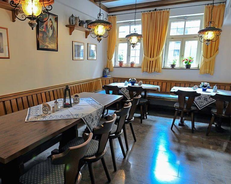Urige Stube im Restaurant Schranne