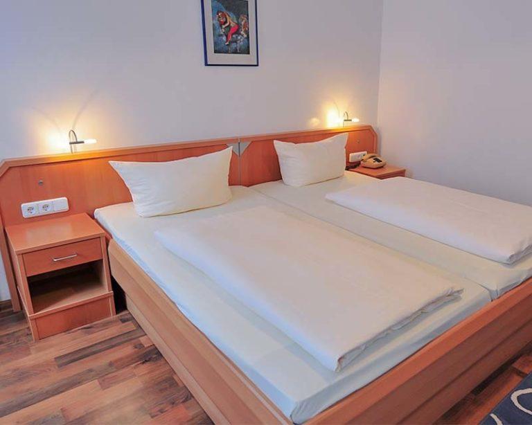 Moderne und komfortable Zimmer im AKZENT Hotel Schranne