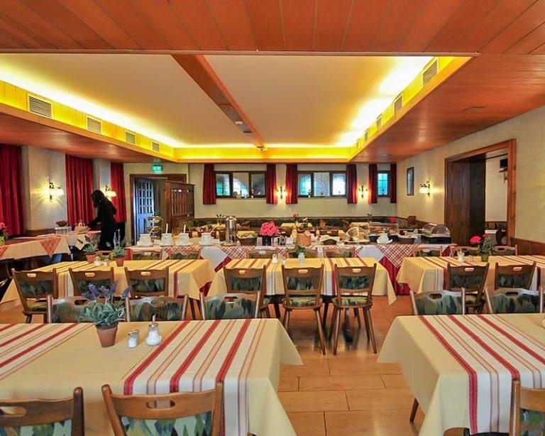 Frühstückssaal im AKZENT Hotel Schranne
