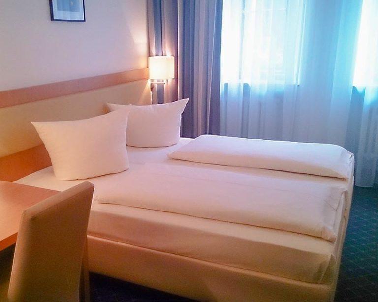Gemütliche und Moderne Zimmer im AKZENT Hotel Schranne