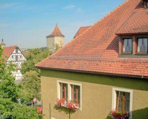 Blick auf den Schrannenplatz aus dem AKZENT Hotel Schranne