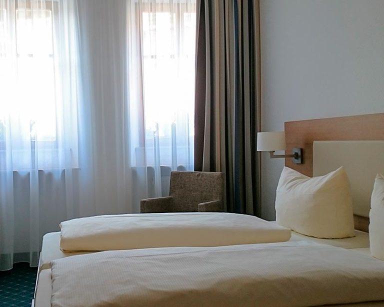 Moderne und gemütliche Zimmer im AKZENT Hotel Schranne