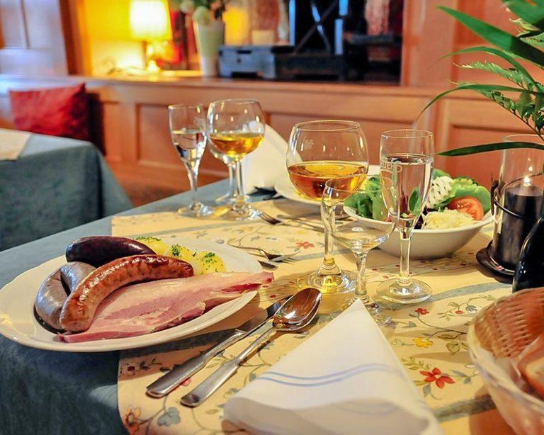 Spezialitäten im AKZENT Hotel Schranne