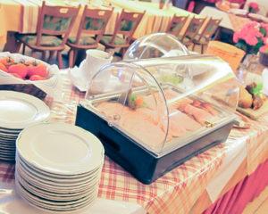 zünftiges Frühstücksbüffet im AKZENT Hotel Schranne