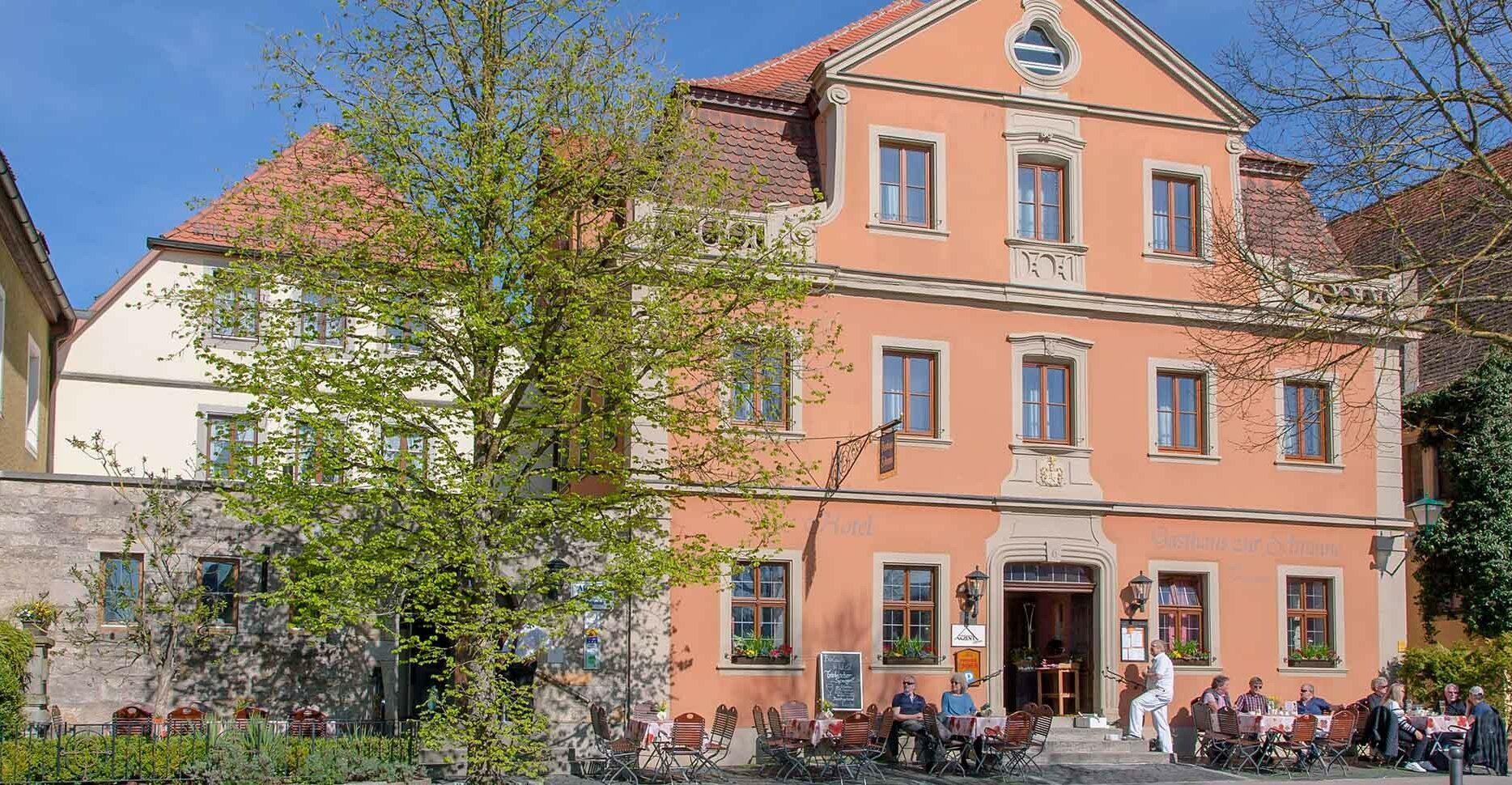 AKZENT Hotel Schranne im Frühjahr