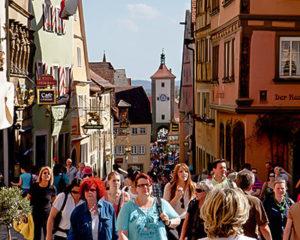 Mittelalterliches Rothenburg ob der Tauber