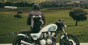 Motorradfahren in Franken
