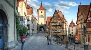 Juwel mittelalterlicher Stadtarchitektur: Rothenburg ob der Tauber