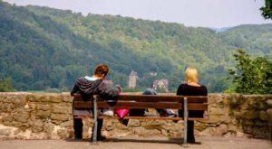 Romantische Panoramen auf Frankens Wanderwegen