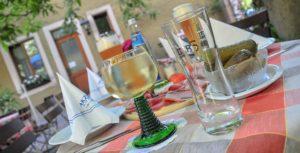 Regionale Köstlichkeiten im Schrannengarten im AKZENT Hotel Schranne