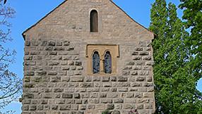 Blasiuskapelle im Burggarten in Rothenburg ob der Tauber