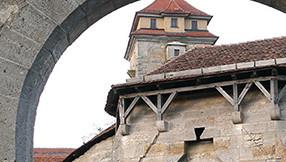 Spitalbastei in Rothenburg ob der Tauber