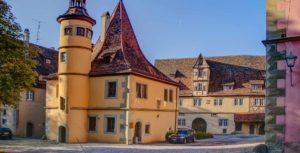 Spitalbastei mit Hegereiterhaus in Rothenburg ob der Tauber