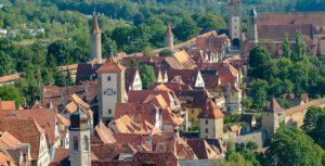 Mittelalterliche Stadt Rothenburg ob der Tauber