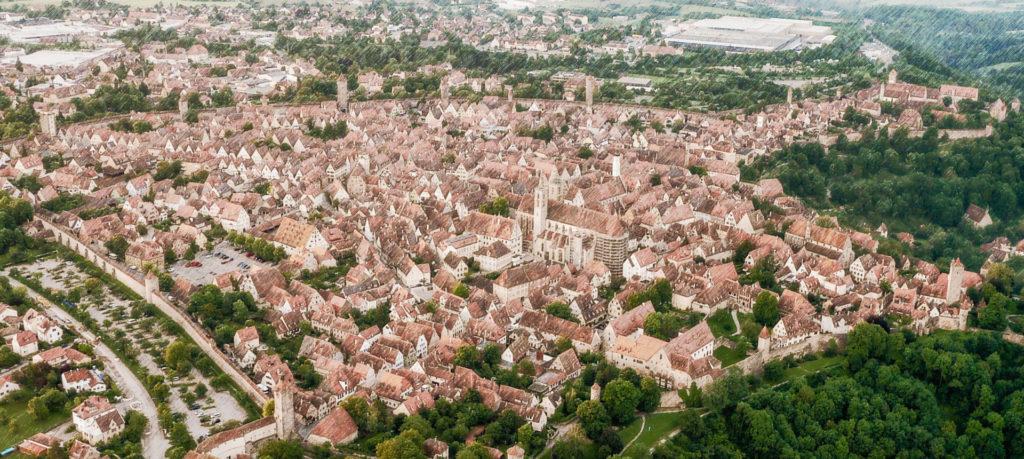 Sehenswürdigkeiten im historischen Rothenburg ob der Tauber