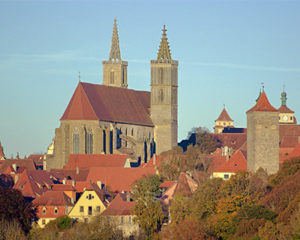 St. Jakob mit Riemenschneider Altar in Rothenburg ob der Tauber