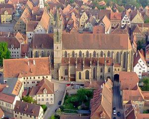 Historische Altstadt Rothenburg ob der Tauber