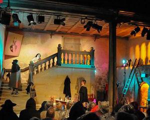 Aufführung im Toppler-Theater in Rothenburg ob der Tauber