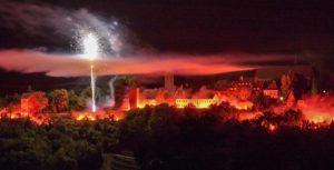 Feuerwerk in Rothenburg ob der Tauber