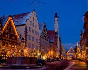 Weihnachtszauber in Rothenburg